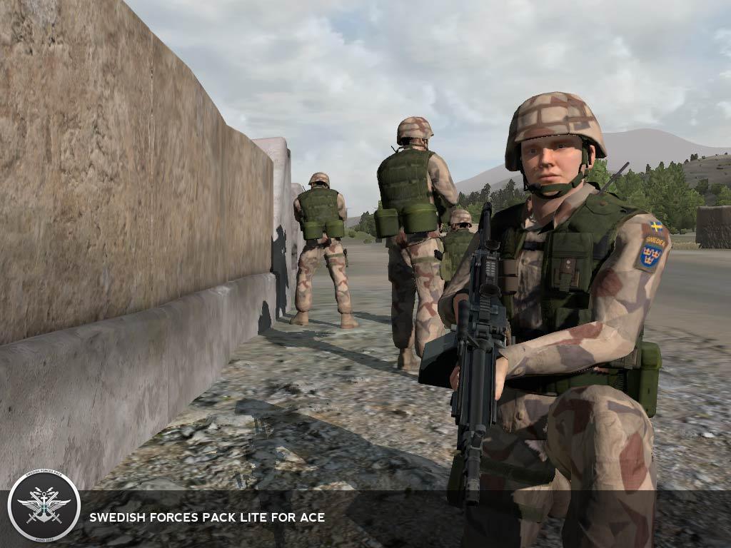 Desert soldiers